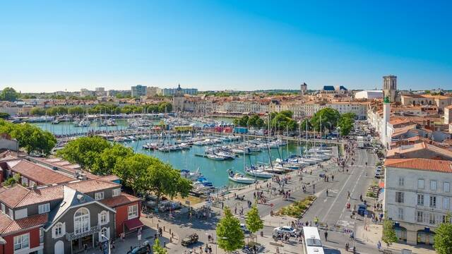 Vue aérienne du Vieux-Port de La Rochelle - ©Shutterstock