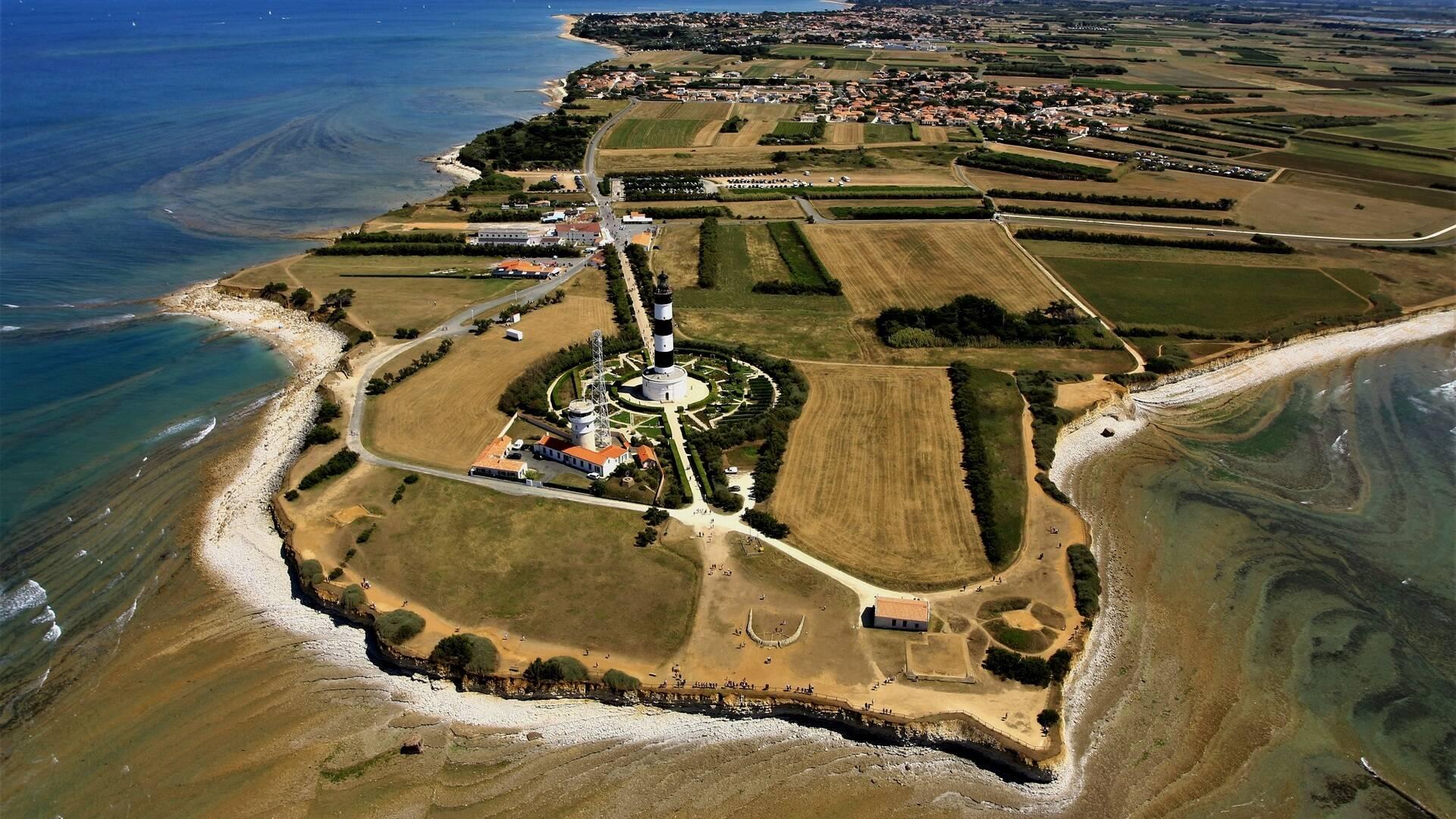 Vue aérienne de l'île d'Oléron - ©Philippe Laplace