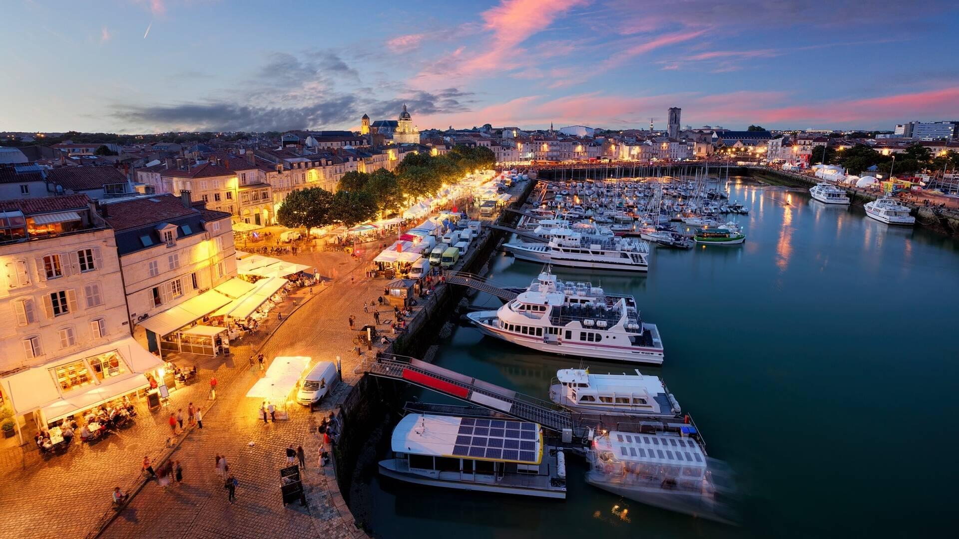 Vue du Vieux-Port de La Rochelle ©Shutterstock