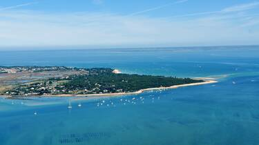 Arial view of the l'île de Ré © FDHPA 17