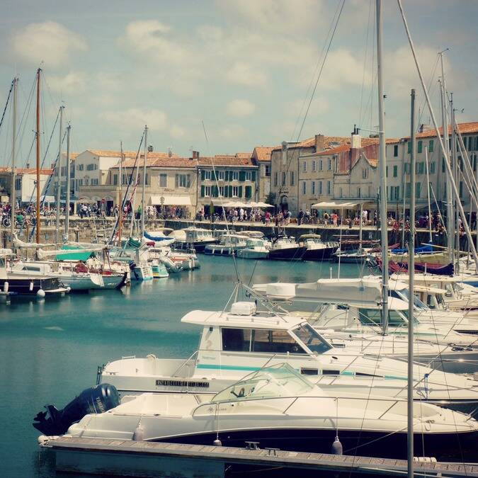 The port of Saint-Martin-de-Ré © FDHPA 17